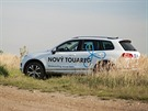 Nový Touareg nám pomůže při hledání Dropionu a s dopravou organizátorů na místa nálezů stratokeší.