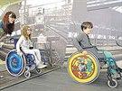 Vyzkoušíte si také, jaké překážky překonávají lidé na vozíku v reálném...