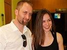 Here�ka Veronika Kuba�ov� a divadeln� re�is�r Pavel Khek