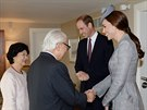 Prezident Singapuru Tony Tan Keng Yam se v Londýně setkal nejprve s princem...