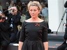 Frances McDromandová na festivalu v Cannes (září 2014)