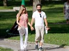 Antonio Banderas a Nicole Kempelová na romantické dovolené ve Španělsku