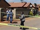 Policie vyšetřuje smrt kapitána jihoafrické fotbalové reprezentace. Senzo...