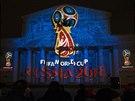 VELKÁ SHOW. Rusko p�edstavilo logo mistrovství sv�ta 2018. Poprvé ho ukázalo na...