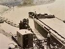 Unikátní vodní dílo bylo otevřené v roce 1938. Svému účelu sloužilo jen krátce.