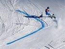 Ted Ligety během obřího slalomu v Söldenu,