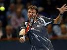Stan Wawrinka na turnaji v Basileji