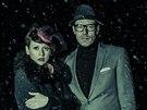 Charlie One a Jan Čechtický z Ohm Square na fotce k albu A Curious Place...