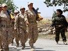 Kurdské bojovnice při výcviku v Sulajmáníje, která leží zhruba 260 km...