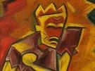 Josef Čapek, Král Lear, olej na plátně