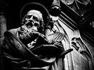 sochy katedrály svatého Petra a Pavla v Brn�