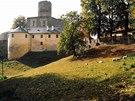 Podzim pod hradem Svojanov