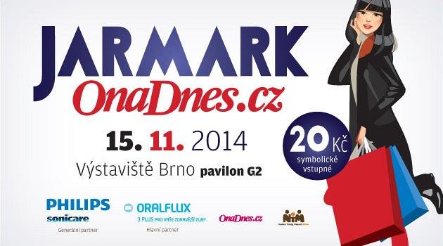 Pozvánka na Jarmark OnaDnes.cz do Brna v sobotu 15.11. 2014