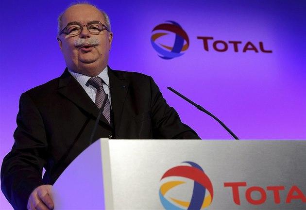 �éf francouzské ropné spole�nosti Total Christophe de Margerie