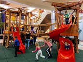 Nově otevřená dětské atrakce v OC Letňany