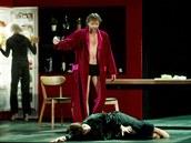 Scéna z inscenace Salome ve Státní ope�e