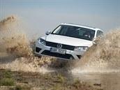 Volkswagen Touareg v úprav� pro Stratocaching