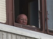 Bývalý dozorce v koncentra�ním tábo�e Osv�tim Jakob Denzinger dnes �ije ve...