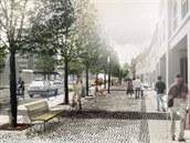 Silnice protínající Planou nad Lu�nicí se podle vít�zného návrhu zú�í z...