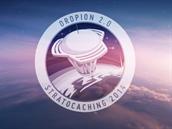 Nový emblém vytvo�ený pro Stratocaching 2014.