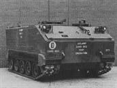 Takhle to začalo: armádou zkoušený prototyp M133 označovaný jako T113 v roce...