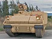 Upravené vozidlo Bradley, které firma BAE nabízí do programu AMPV.