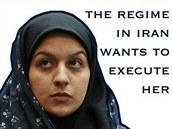 Nyní �estadvacetiletá Rejhana D�abbaríová byla i Íránu odsouzena k smrti za to,...