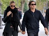 Heidi Klumová a Vito Schnabel na romantickém výlet� v Pa�í�i