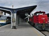 Na nádraží vedl Südbahn (Jižní trať)  a Ostbahn (Východní trať) Na Ostbahn  na...