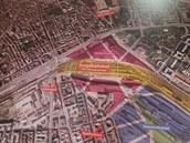 Součástí informačního střediska je mapy, na které je znázorněná stavba a...