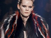 Kožešinový kabát Roberto Cavalli, kolekce podzim - zima 2014/2015