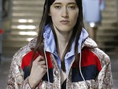 Lesklá sportovní bunda Miu Miu, kolekce podzim - zima 2014/2015