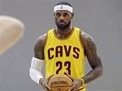 LeBron James je zpátky v dresu Clevelandu.