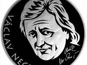 Pamětní medaile Václava Neckáře, kterou vydala Pražský mincovna u příležitosti...