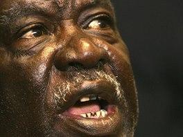 Prezident Zambie Michael Sata na sn�mku z roku 2006.