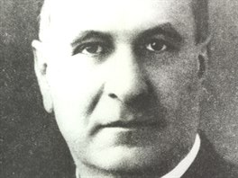 Otto Lev Stanovský v době nacistické okupace, ještě před svým zatčením.
