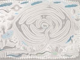 Labyrint Jana Híska je inspirován jednosměrným labyrintem chartreského typu,...