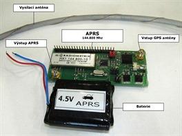 Systém semínka s APRS. To je radioamatérský provoz (podobně jako RTTY). APRS modul každých 30 sekund pošle digitálně zprávu, která obsahuje identifikaci, GPS pozici, výšku, teplotu, napětí baterií, kvalitu GPS signálu a podobně.    Zpráva se vyšle všesměrově. Kdo ji na zemi či v autě zachytí, ten ji zopakuje pro ostatní. Takto se zpráva šíří dál, až se objeví v Internetové aplikaci jako bod na mapě s patřičným popisem.