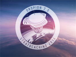 Nov� embl�m vytvo�en� pro Stratocaching 2014.