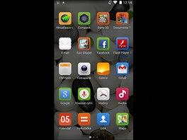Ikonky v menu ZOPO ZP1000S převzalo z grafické nástavby MIUI