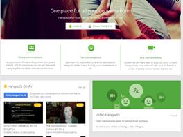 Google Hangouts - dal�� ��st Google+, kter� si �ije vlastn�m �ivotem.