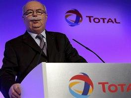 Šéf francouzské ropné společnosti Total Christophe de Margerie