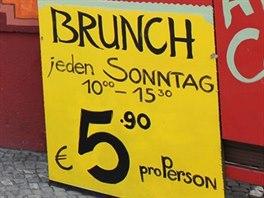 """Mexický brunch v """"západním"""" Berlíně. Ve čtvrti Kreuzberg zaplatíte za brunch..."""