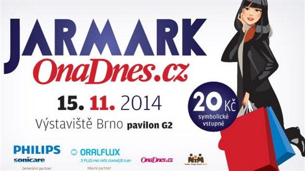 Pozvánka na Jarmark OnaDnes.cz do Brna 15.10. 2014