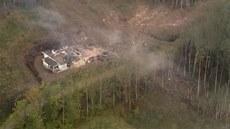 evakuace obcí po výbuchu