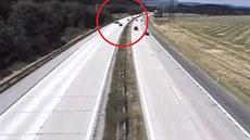Vybr��ova� na dálnici D1