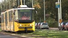 �lutá tramvaj