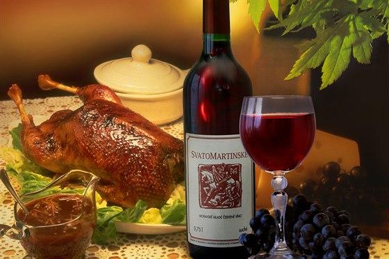 Připijte si prvním svatomartinským vínem a ochutnejte koláče i další...