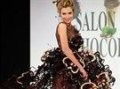 Čokoládová módní přehlídka na pařížském Salon du Chocolat