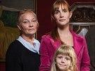Hana Vagnerová se svou televizní rodinou